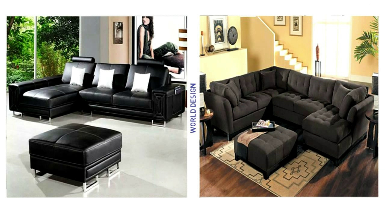 Best 35 Safa living rooms black Corner ideas !!